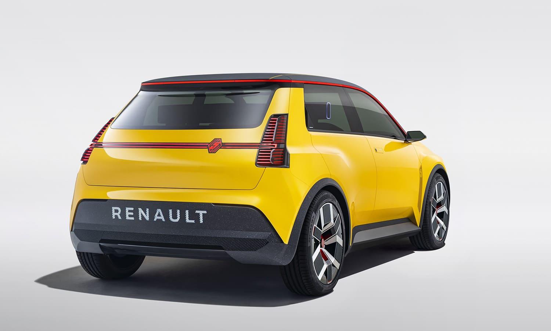 Renault 5 Prototype trasera