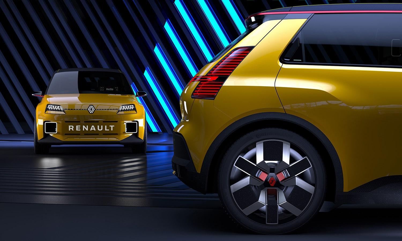 Renault 5 Prototype detalles