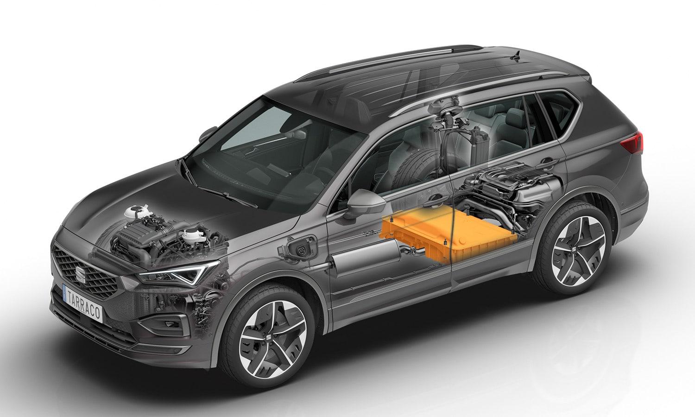 Seat Tarraco e-Hybrid batería