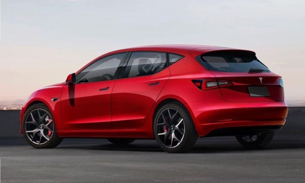 Tesla Hatchback by @Theottle