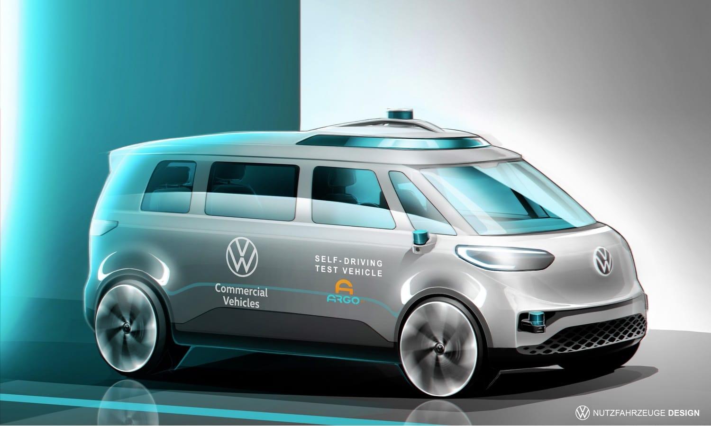 Volkswagen Commercial Vehicles moves ahead with Autonomous Driving - Volkswagen ID Buzz