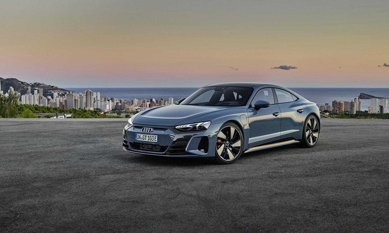 Audi e-tron GT perfil