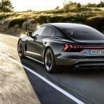 Audi RS e-tron GT dinámica trasera