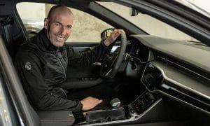 Zidane coche Audi