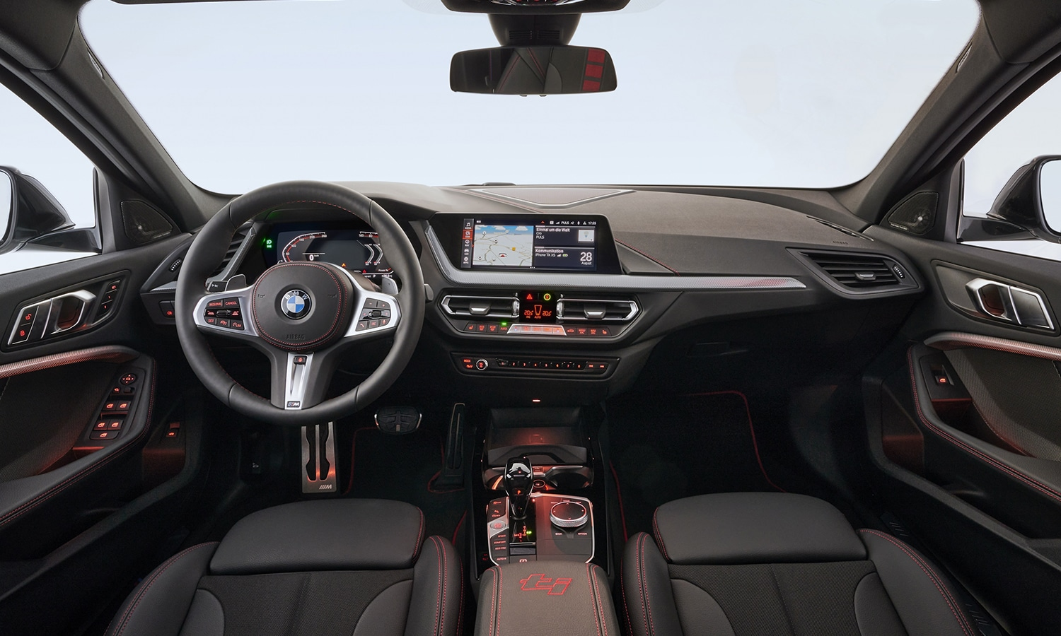 BMW 128ti interior