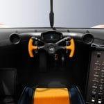 Gordon Murray T.50s Niki Lauda habitáculo