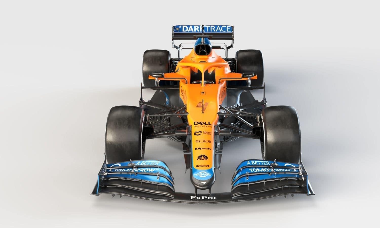 McLaren MCL35M frontal