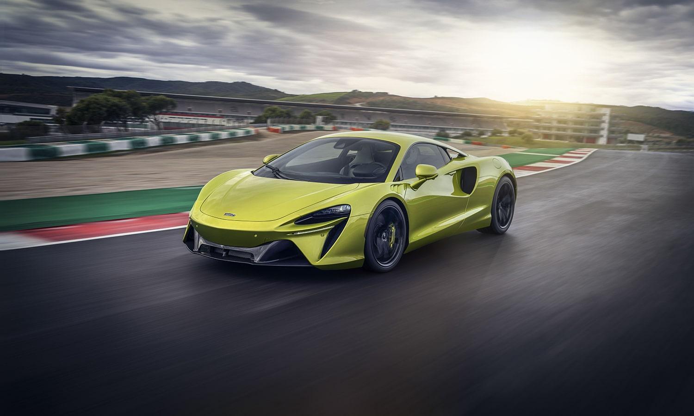 McLaren Artura dinámica
