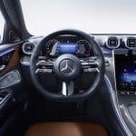 Mercedes Clase C salpicadero