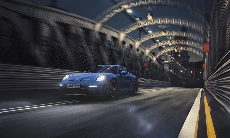 Porsche 911 GT3 dinámica