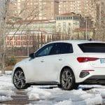Prueba Audi A3 Sportback TDI parte trasera