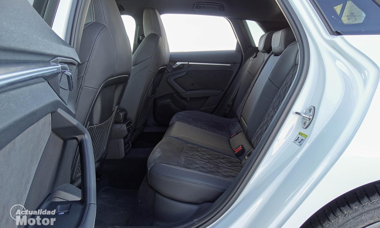 Prueba Audi A3 Sportback TDI plazas traseras