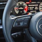 Prueba Audi A3 Sportback TDI detalle volante