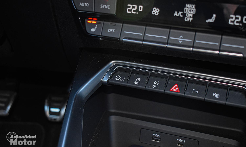 consola central Audi A3
