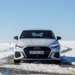 Prueba Audi A3 Sportback TDI Black Line delantera