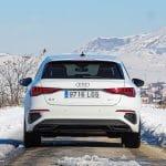 Prueba Audi A3 Sportback TDI trasera