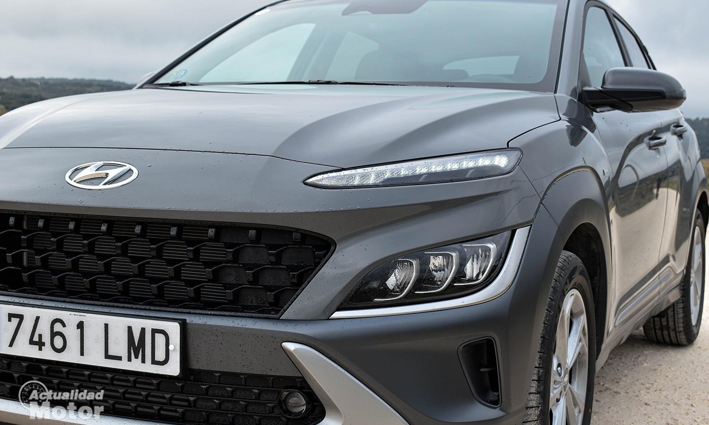 Prueba Hyundai Kona detalle faros