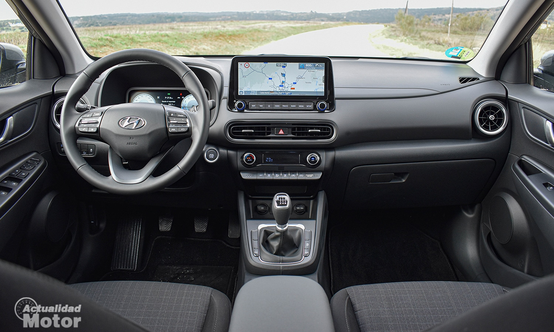 Prueba Hyundai Kona salpicadero