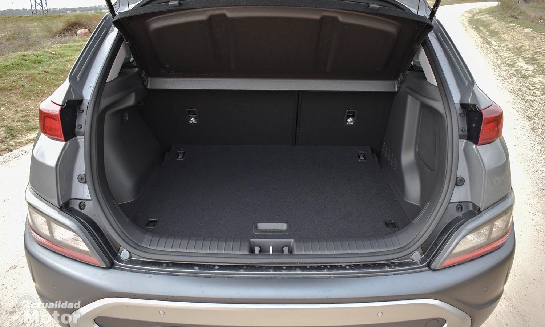 Prueba Hyundai Kona maletero