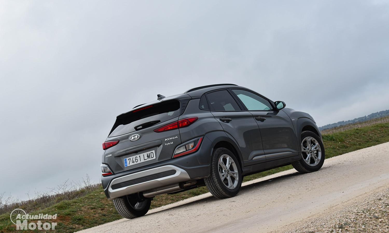 Prueba Hyundai Kona perfil trasero