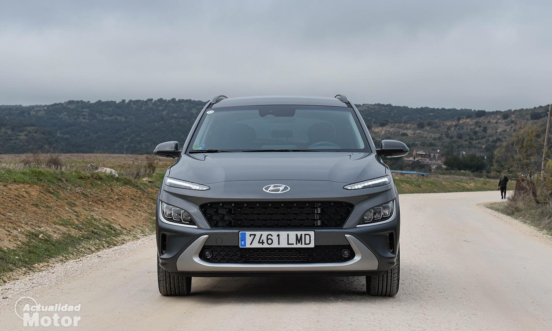 Prueba Hyundai Kona 2021 frontal