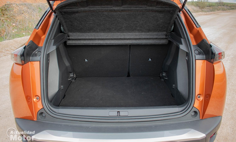 Prueba Peugeot 2008 maletero