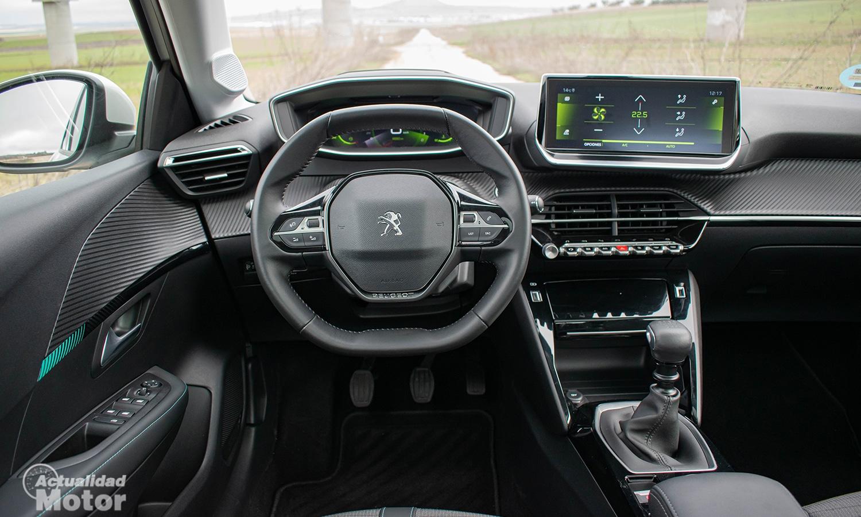 Prueba Peugeot 208 interior