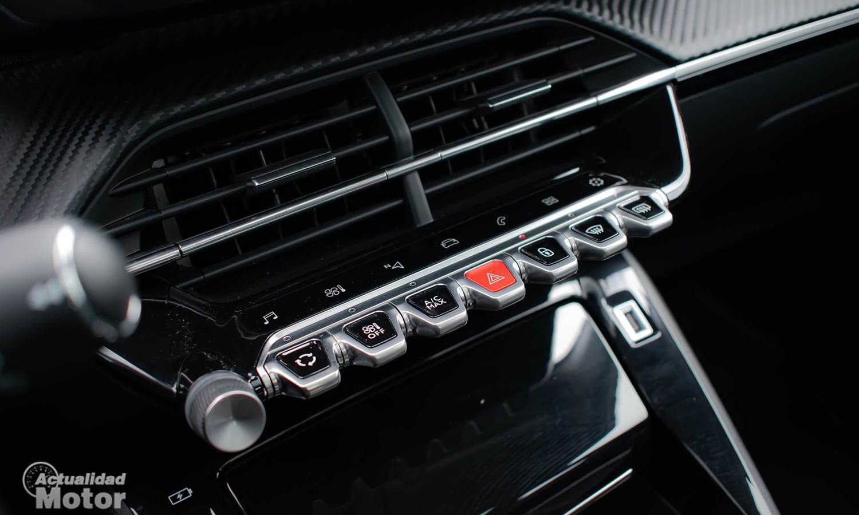 Prueba Peugeot 208 salpicadero