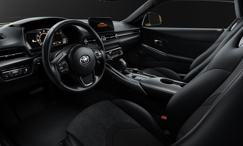 Toyota Supra Pure interior