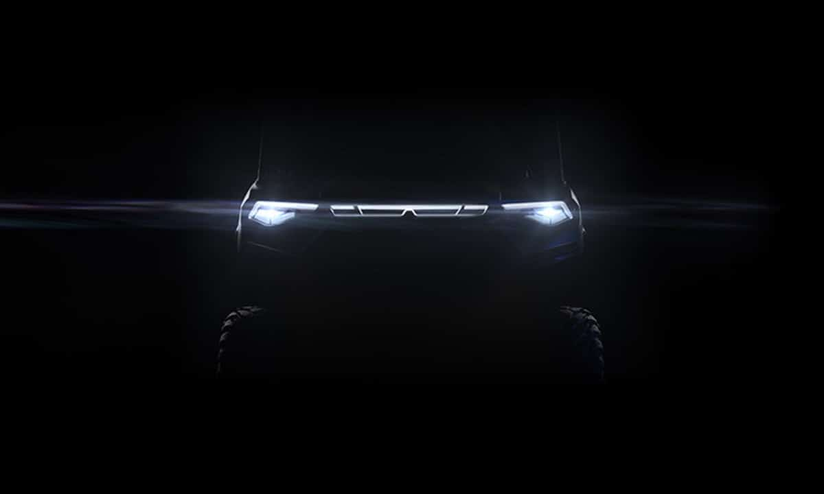 All new electric Polaris Ranger front teaser