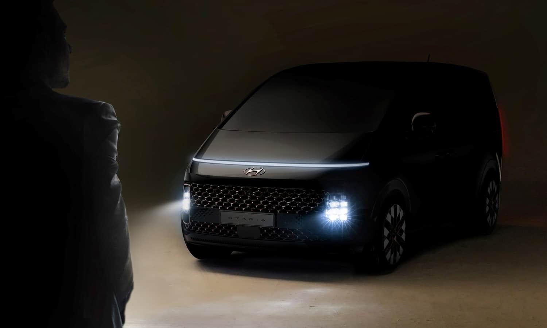 Hyundai Staria MPV concept