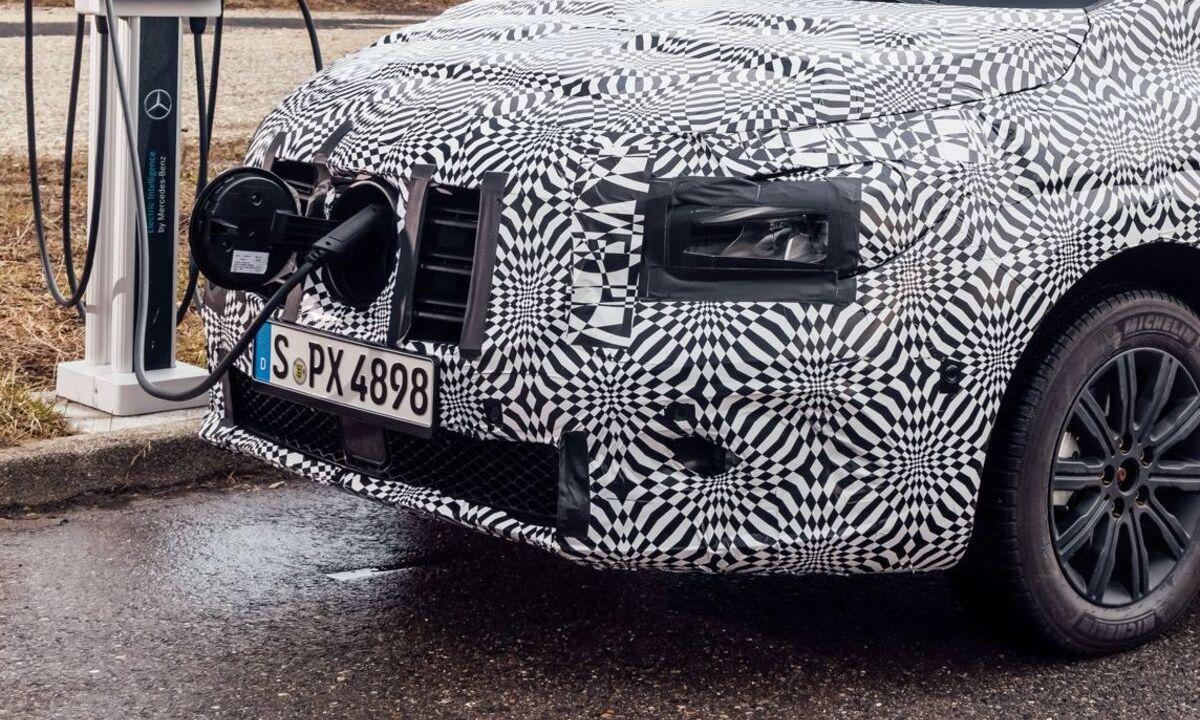 New Mercedes-Benz Citan spy photo