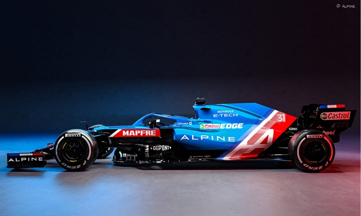 Alpine A521 lateral