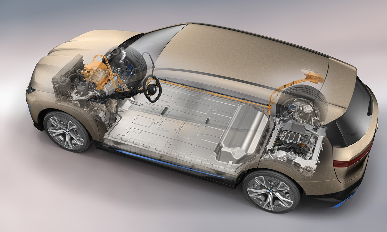 BMW iX plataforma