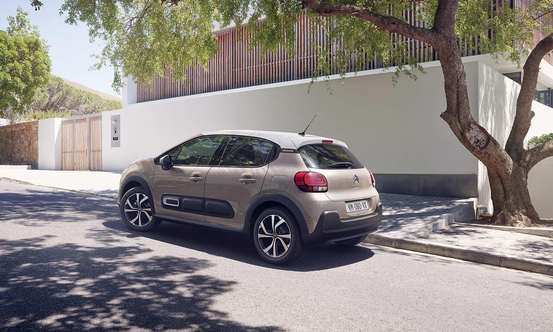 Citroën C3 trasera