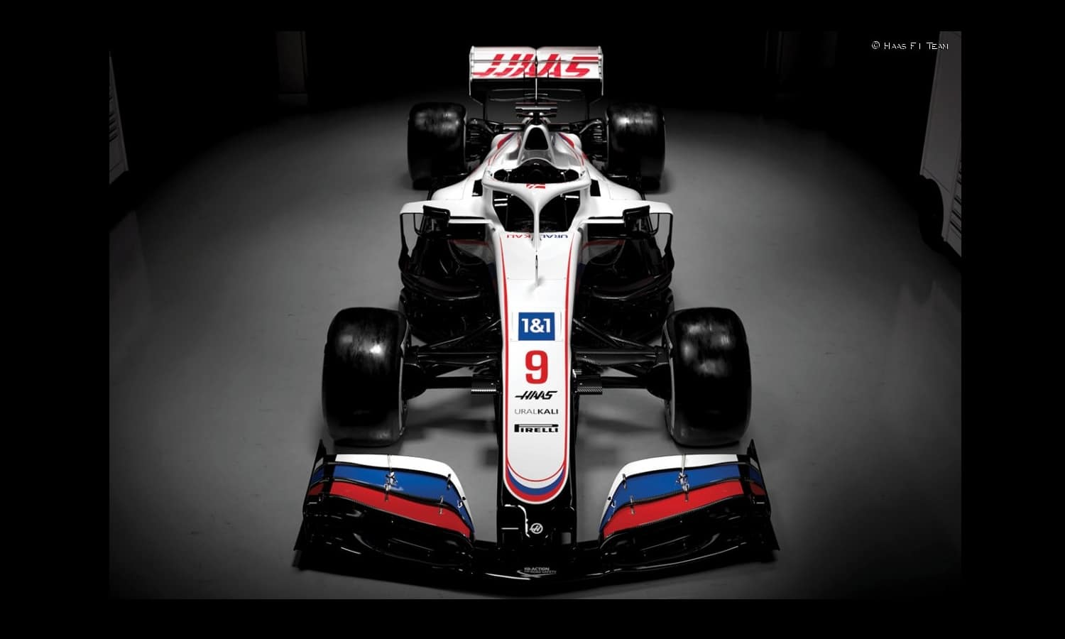 frontal Haas VF-21