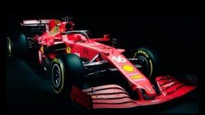 portada Ferrari f1 2021