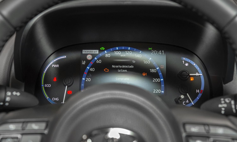 Toyota Yaris Cross cuadro instrumentos