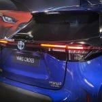 Toyota Yaris Cross trasera