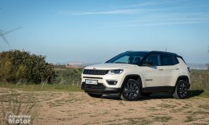 Prueba Jeep Compass híbrido enchufable