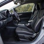 Prueba Subaru Impreza plazas delanteras
