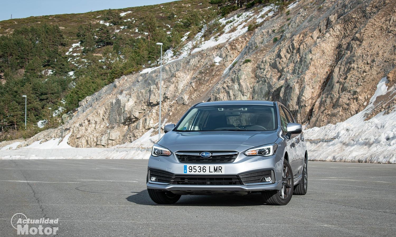 Prueba Subaru Impreza híbrido delantera