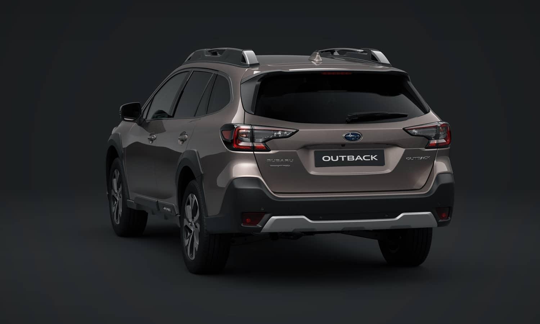 Subaru Outback trasera