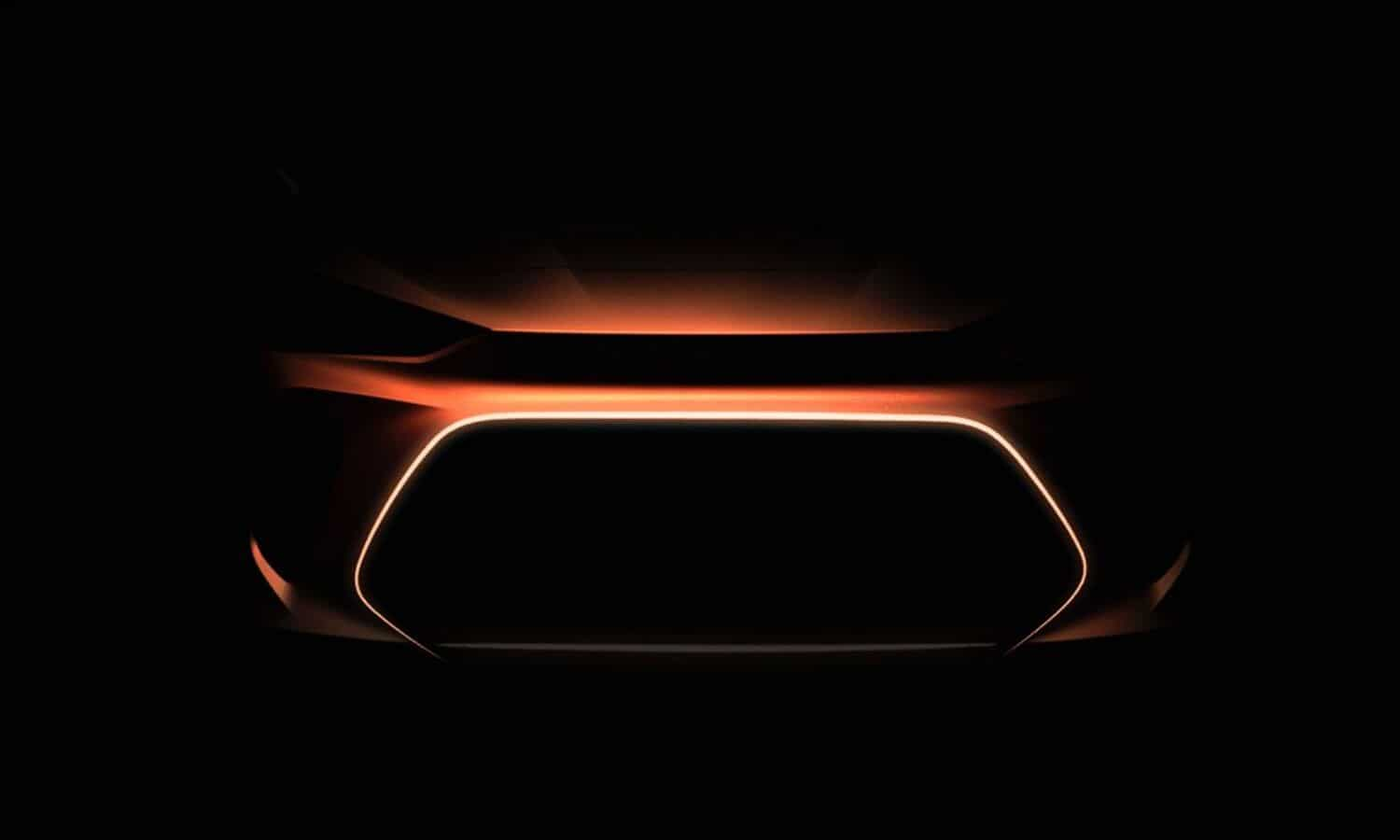 Volkswagen teaser image of the Project Trinity EV