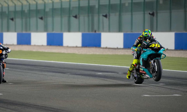 Valentino Rossi yamaha MotoGP Qatar 2021