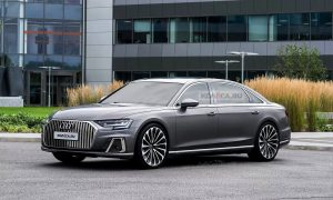 Audi A8 Horch front render