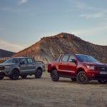 Ford Ranger Wolftrak and Ford Ranger Stormtrak 2021