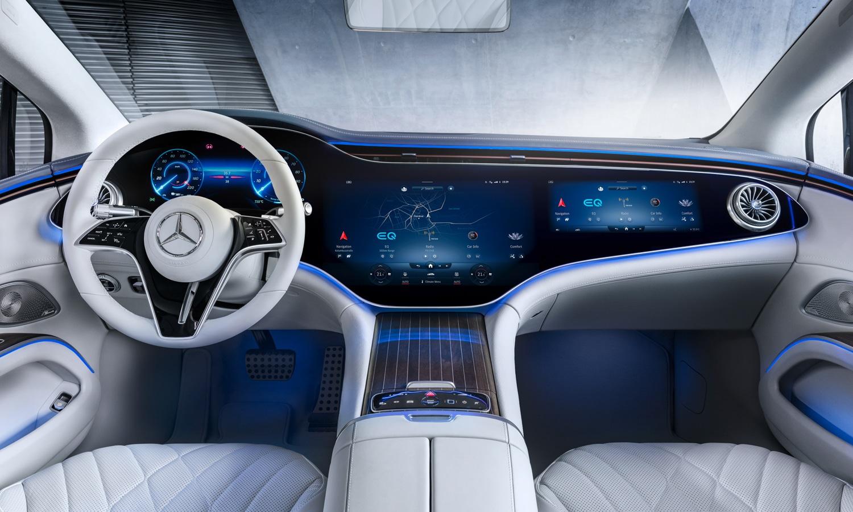 Mercedes EQS interior