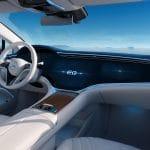 Interior Mercedes EQS