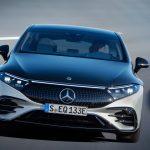 Mercedes EQS frontal